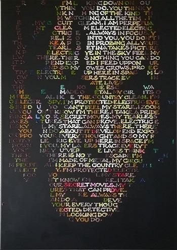 """Billede af Gabor A. Nagy maleriet """"Electric Eye"""""""