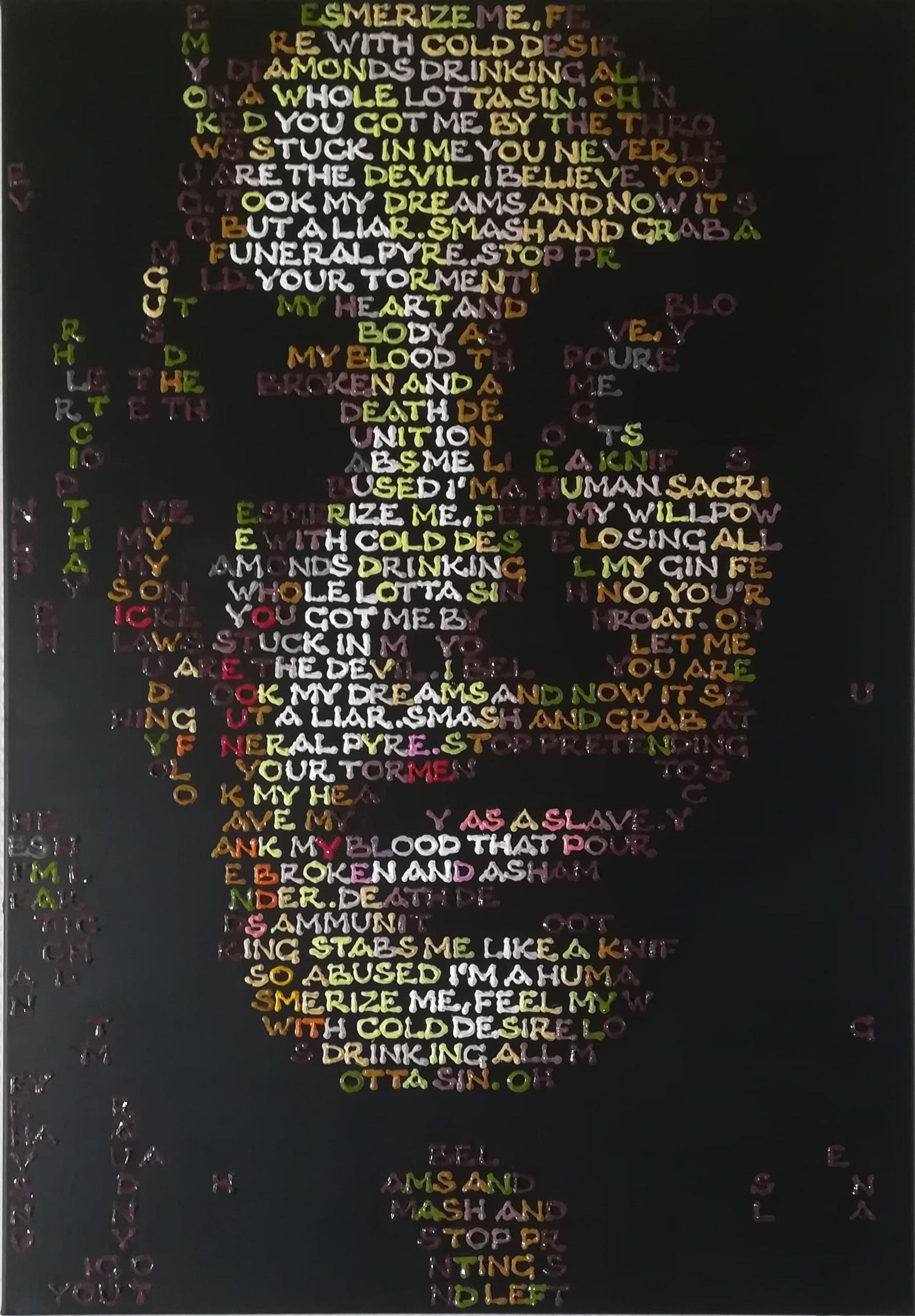 """Billede af Gabor A. Nagy maleri """"Mesmerize Me"""""""