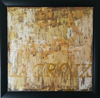 """Billede af Kehnet Nielsen maleriet """"La Croix"""""""