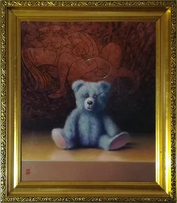 """Billede af Niels Erik Skovballe maleriet """"Picasso"""""""
