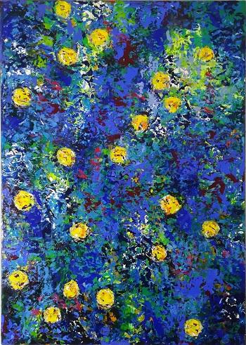 Billede af Pia Andersen maleriet 3