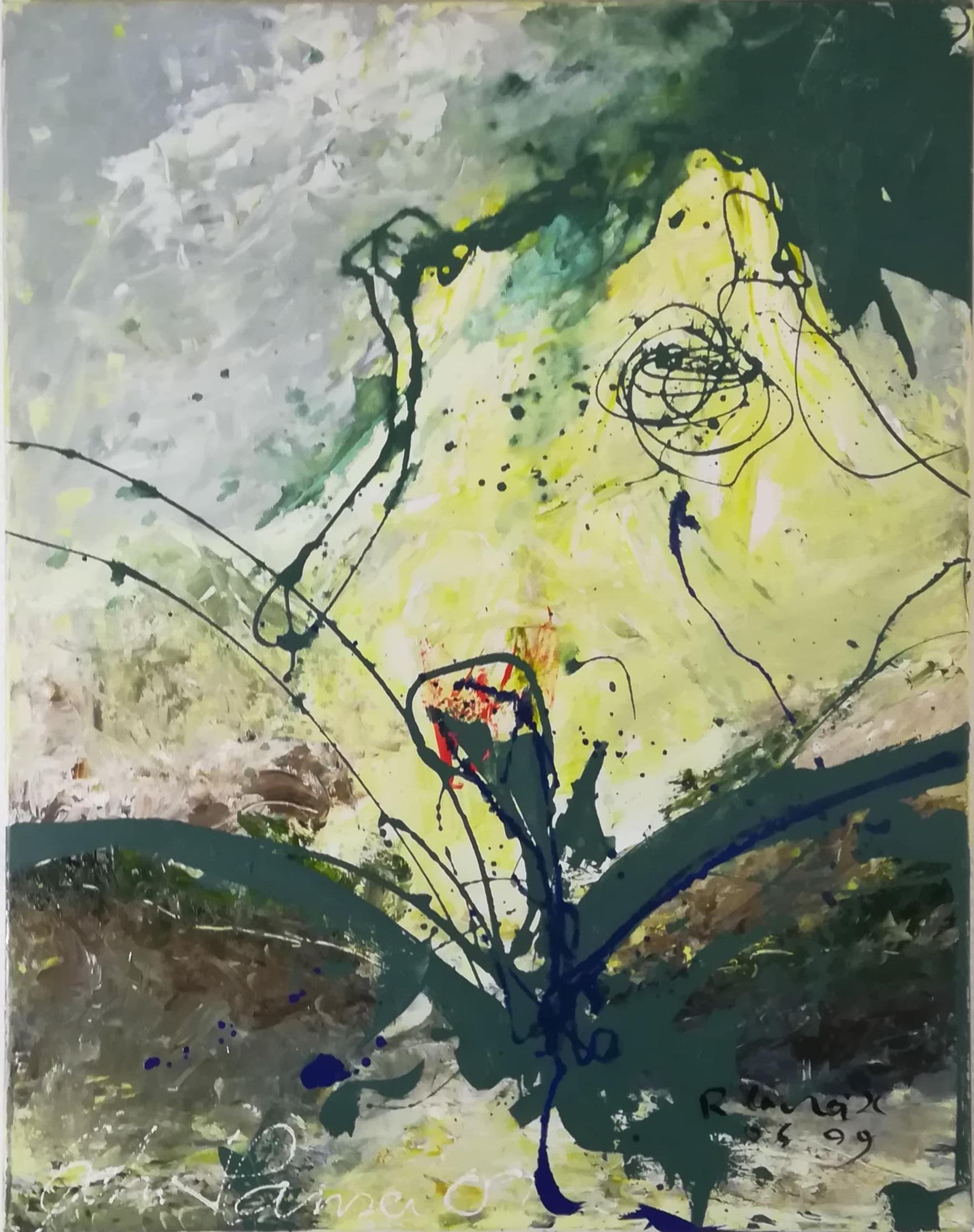 """Rene Lacroix og John Hansen kunstværk """"Erotiske Landskaber 5"""""""