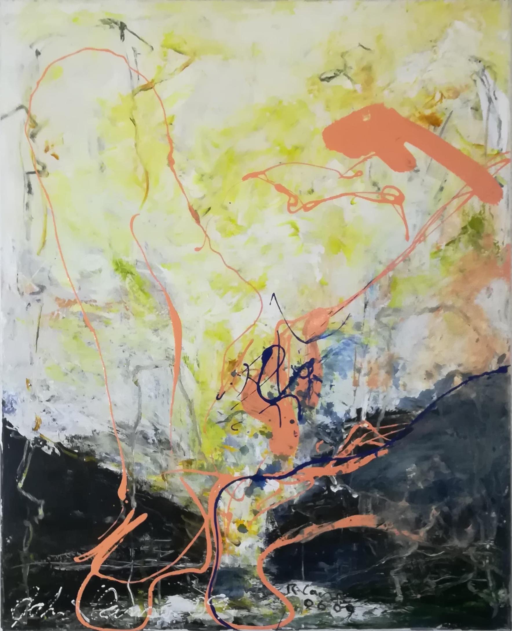 """Rene Lacroix og John Hansen kunstværk """"Erotiske Landskaber 6"""""""