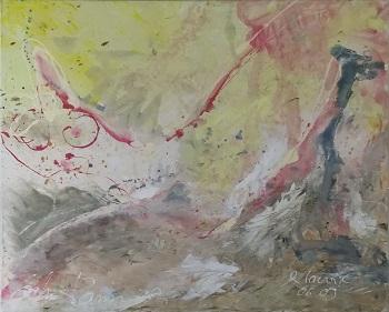 """Rene Lacroix og John Hansen kunstværket """"Erotiske Landskaber 7"""""""