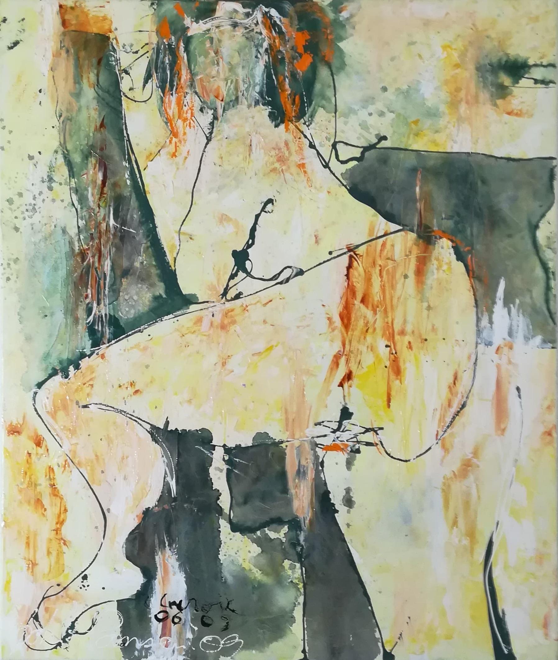 """Rene Lacroix og John Hansen kunstværk """"Erotiske Landskaber 8"""""""