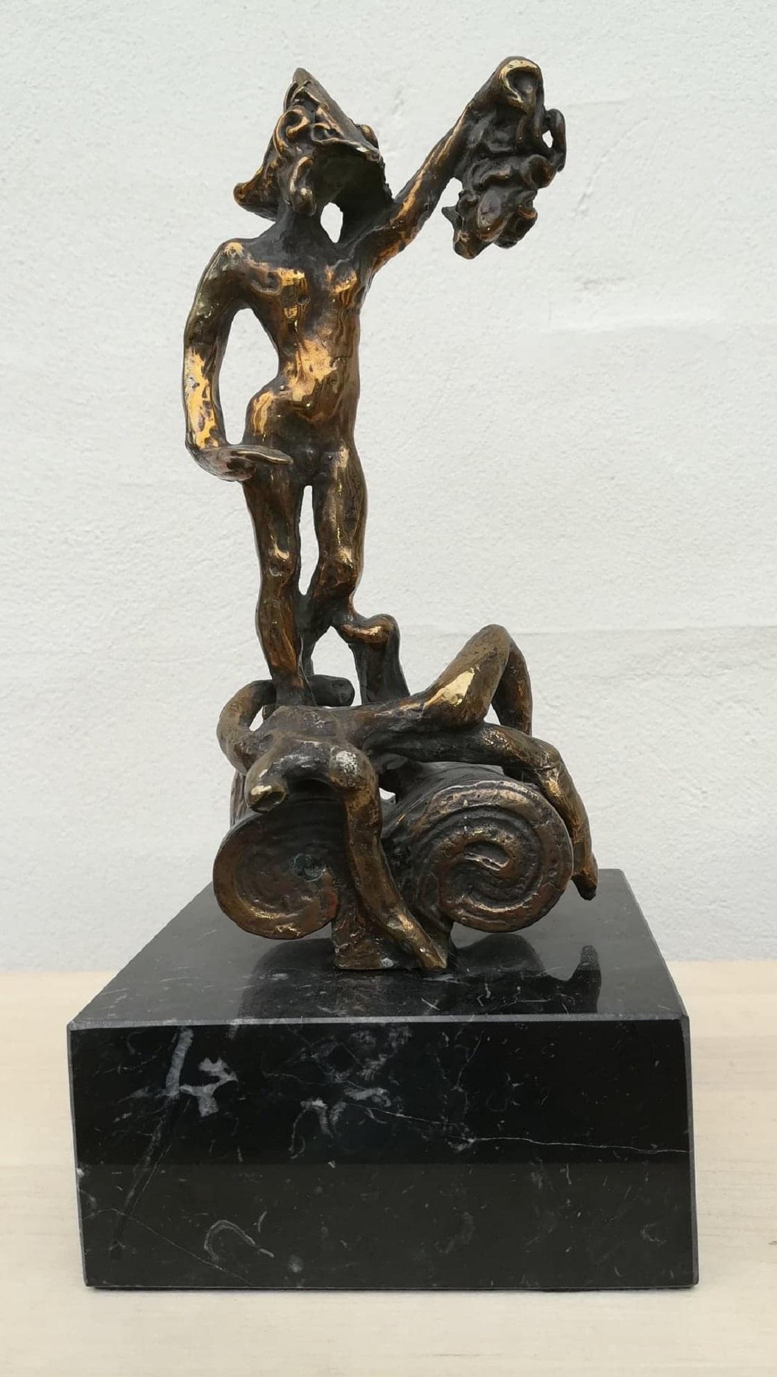 """Billede af Salvador Dali bronzeskulptur """"Persus - Homage to Benvenuto Cellini"""" nr. 204 / 350"""