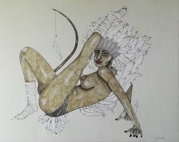 Billede af Sussi Trampedach maleriet 1