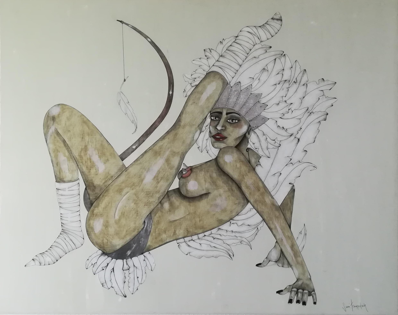 Billede af Sussi Trampedach maleri 1