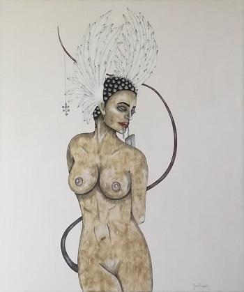 Billede af Sussi Trampedach maleriet 2