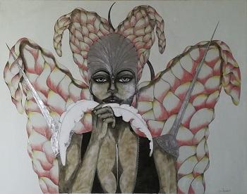 Billede af Sussi Trampedach maleriet 7