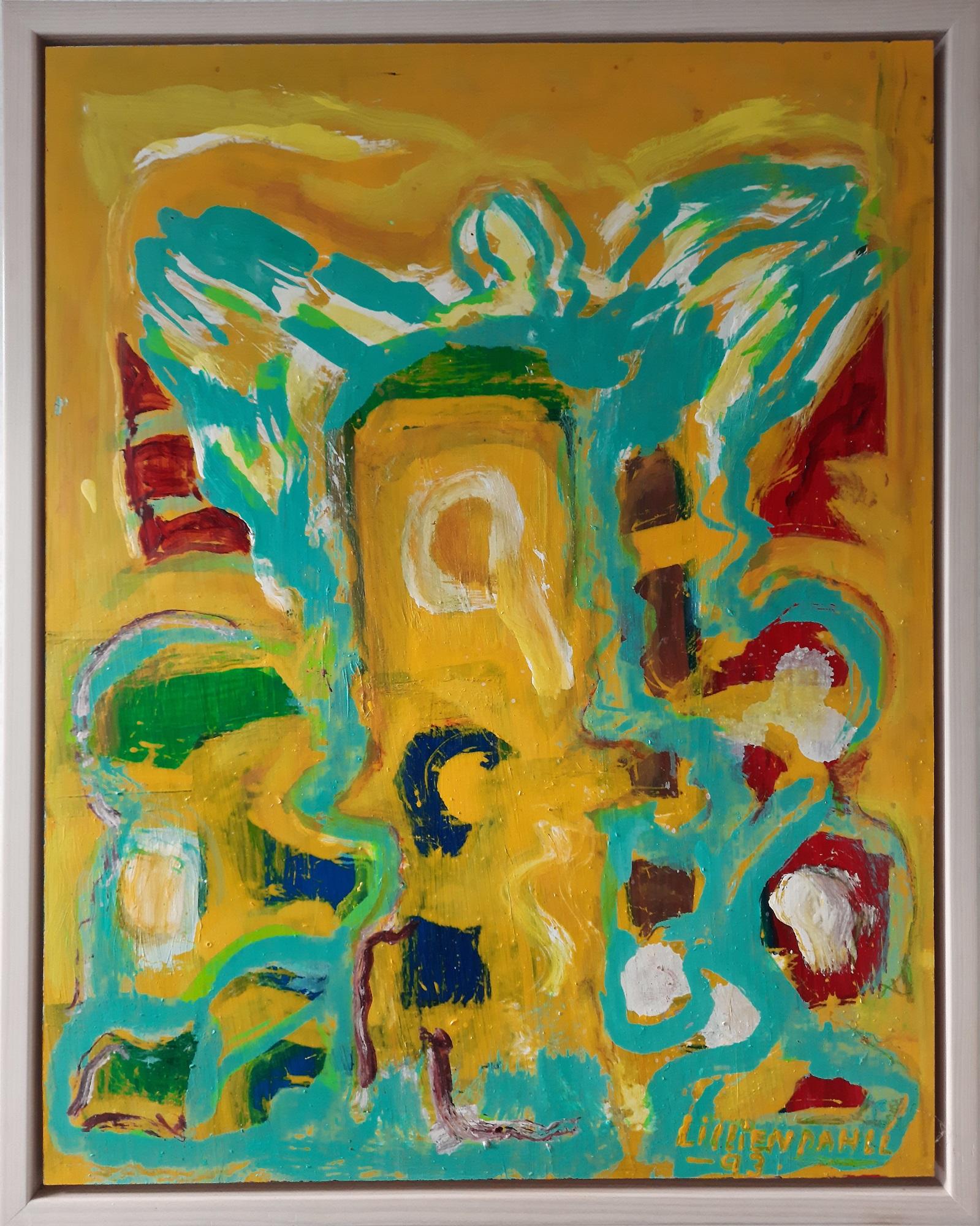 """Alfred H. Lilliendahl """"Komposition 2"""" kunstværk"""