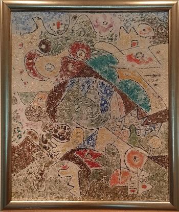 """Ejler Bille """"Sumatra"""" kunstværket"""