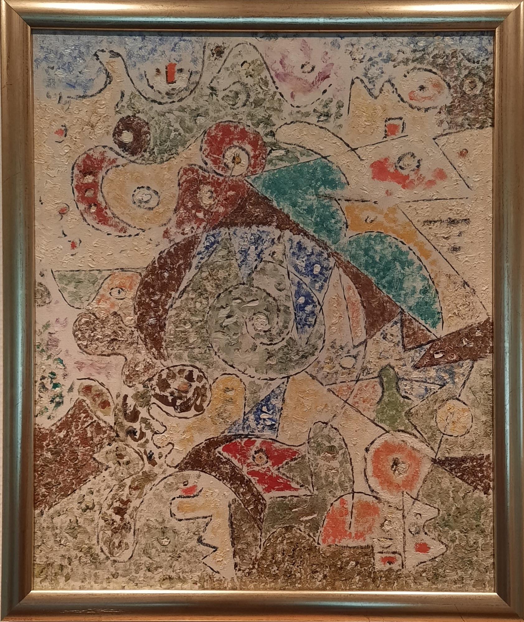 """Ejler Bille """"Sumatra"""" kunstværk"""