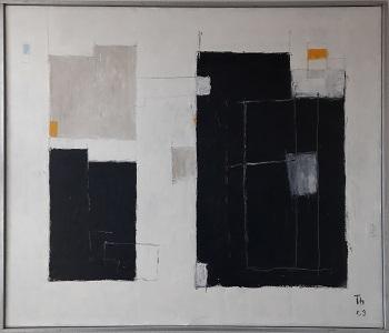 """Eskil Thybo """"Komposition 2"""" kunstværket"""
