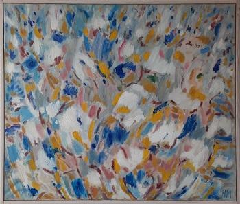 """Hanne Mailand """"Sommer"""" kunstværket"""