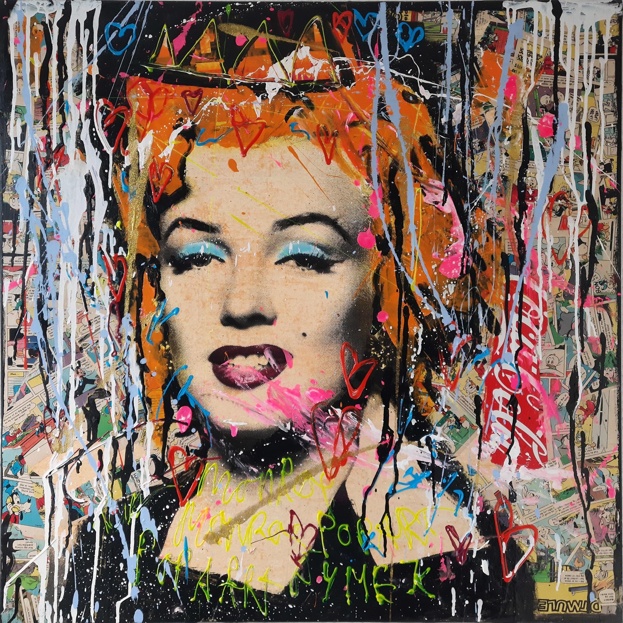 """Jan Klein """"Marilyn Monroe 2"""" kunstværk"""