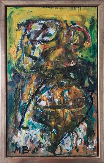 """Mogens Balle """"Figurkomposition 1"""" kunstværket"""