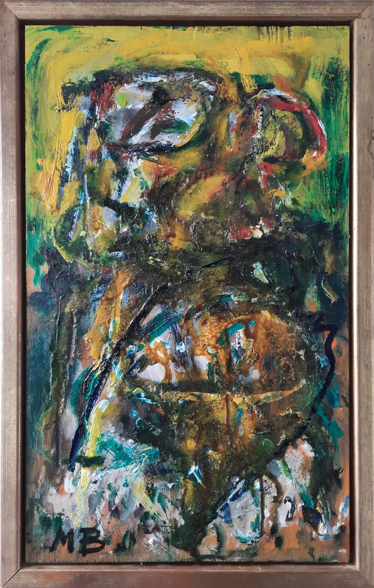 """Mogens Balle """"Figurkomposition 1"""" kunstværk"""