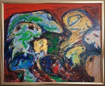 """Mogens Balle """"Memory of Jorn"""" kunstværket"""