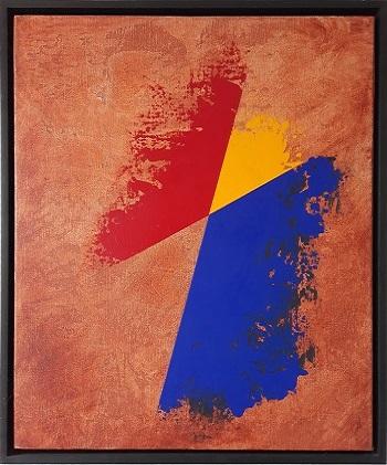"""Per Arnoldi """"Komposition 2"""" kunstværket"""