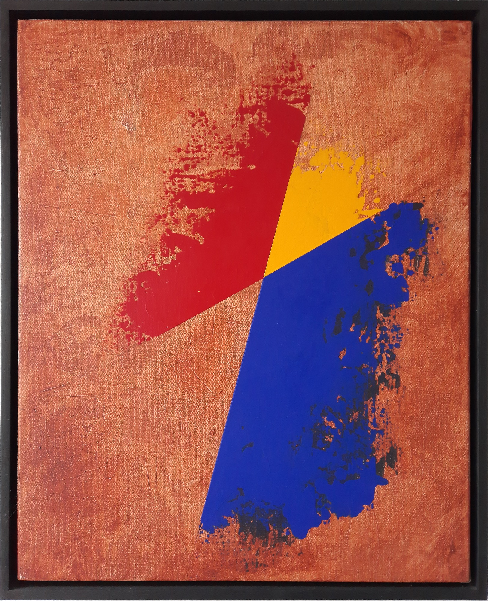 """Per Arnoldi """"Komposition 2"""" kunstværk"""