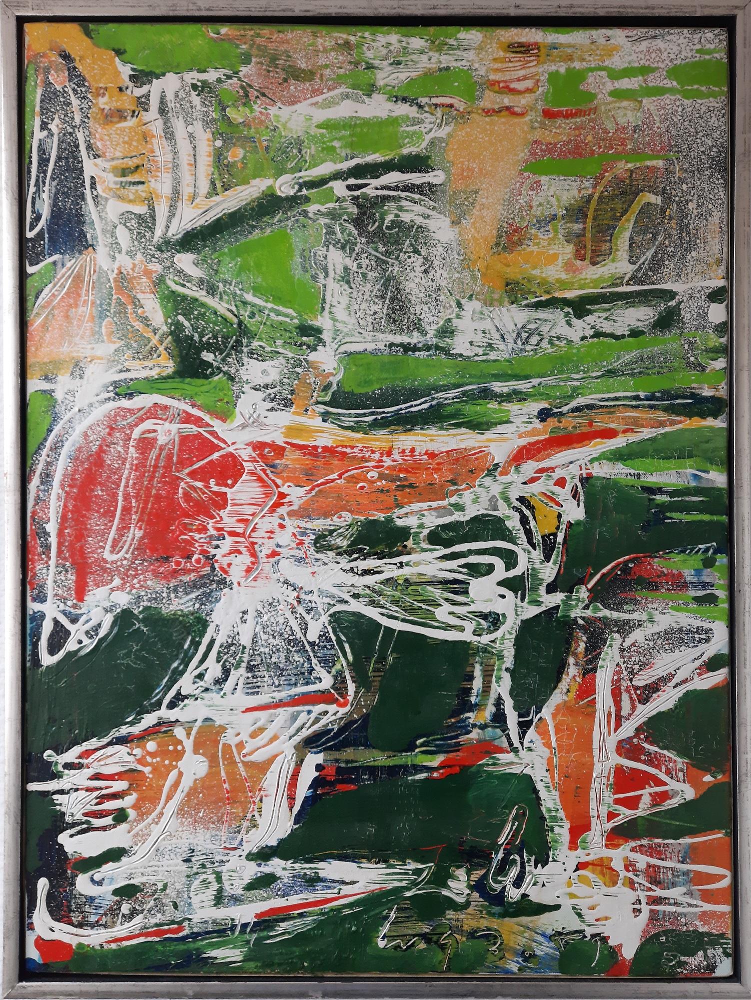 """Peter Nyborg """"Deep Water Songs"""" kunstværk"""