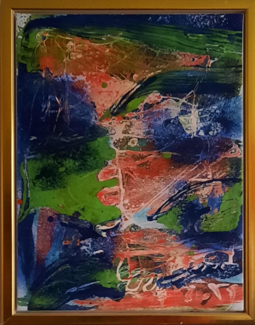 """Peter Nyborg """"The winged eagle"""" kunstværk"""