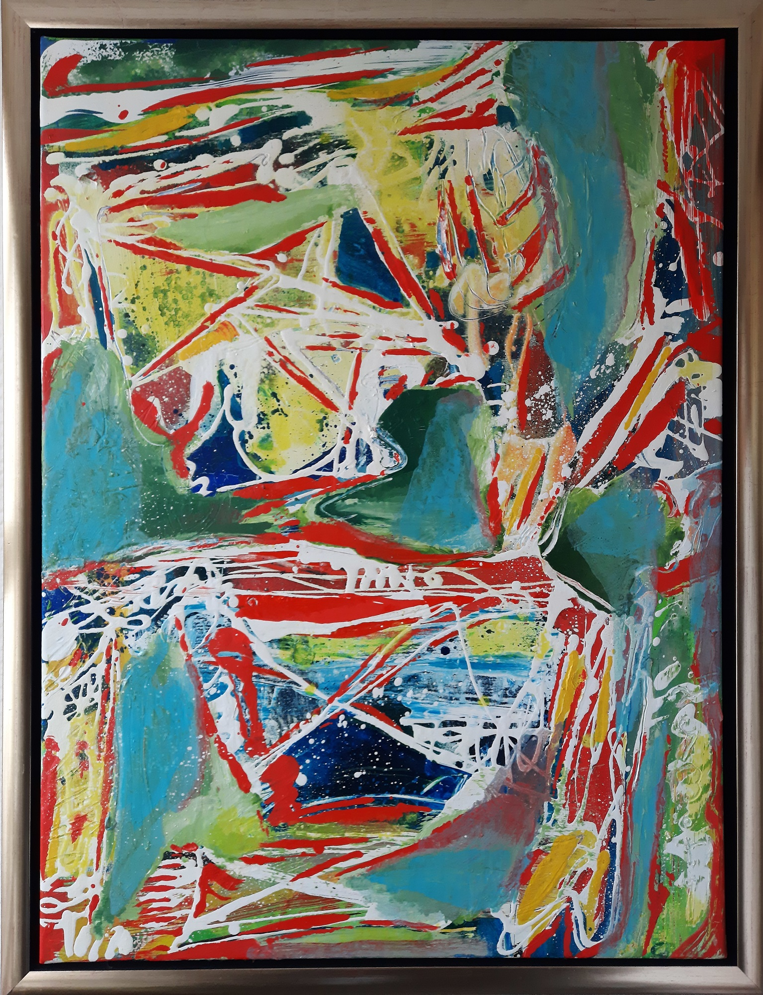 """Peter Nyborg """"Tour d' Argent"""" kunstværk"""
