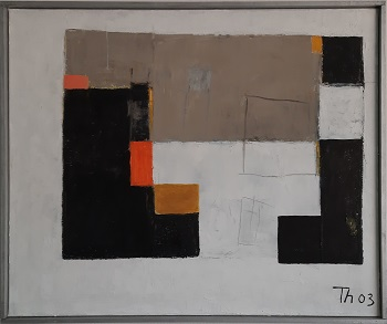"""Eskil Thybo """"Komposition 3"""" kunstværket"""