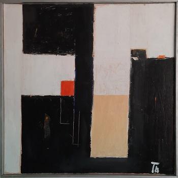 """Eskil Thybo """"Komposition 4"""" kunstværket"""