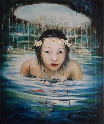 "Rey Morales ""Refreshing the soul"" kunst"