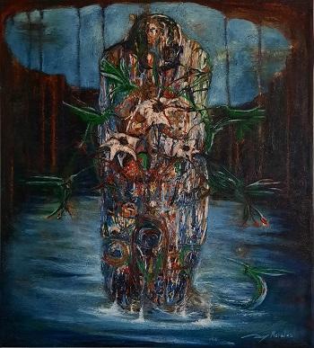 "Rey Morales ""Shamanen"" kunst"
